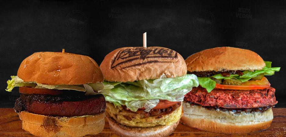 Hambúrgueres veganos: