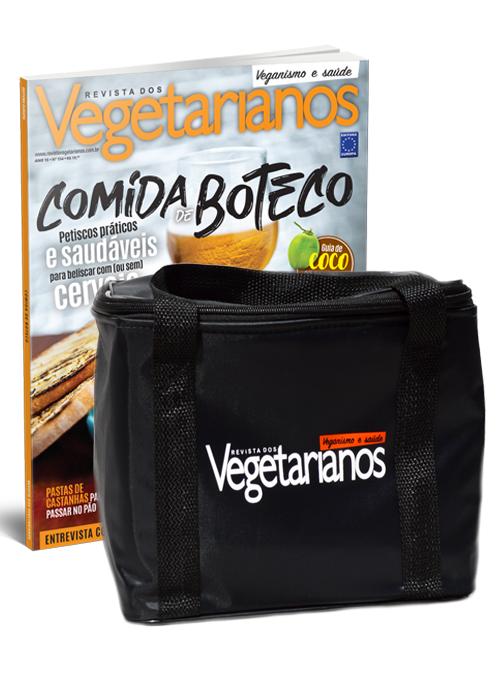Assinatura Vegetarianos + Bolsa Térmica